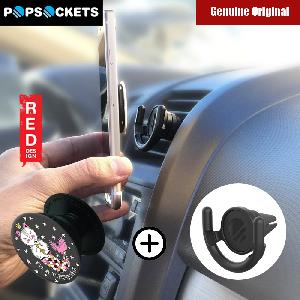 Picture of Popsockets A Phone Grip A Phone Stand An Earbud Management System (I am Purrmaid with Car Vent Mount) Red Design- Red Design Cases, Red Design Covers, iPad Cases and a wide selection of Red Design Accessories in Malaysia, Sabah, Sarawak and Singapore