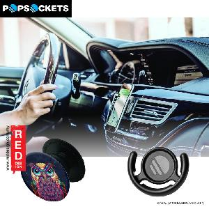 Picture of Popsockets A Phone Grip A Phone Stand An Earbud Management System - Owl with Popclip Red Design- Red Design Cases, Red Design Covers, iPad Cases and a wide selection of Red Design Accessories in Malaysia, Sabah, Sarawak and Singapore