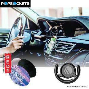Picture of Popsockets A Phone Grip A Phone Stand An Earbud Management System - Pakwan with Popclip Red Design- Red Design Cases, Red Design Covers, iPad Cases and a wide selection of Red Design Accessories in Malaysia, Sabah, Sarawak and Singapore