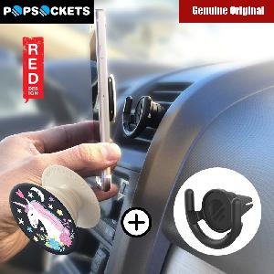 Picture of Popsockets A Phone Grip A Phone Stand An Earbud Management System (Unicorn Dream with Car Vent Mount) Red Design- Red Design Cases, Red Design Covers, iPad Cases and a wide selection of Red Design Accessories in Malaysia, Sabah, Sarawak and Singapore