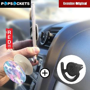 Picture of Popsockets A Phone Grip A Phone Stand An Earbud Management System (Unicorns in the Air with Car Vent Mount) Red Design- Red Design Cases, Red Design Covers, iPad Cases and a wide selection of Red Design Accessories in Malaysia, Sabah, Sarawak and Singapore