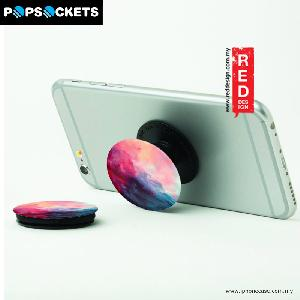 Picture of Popsockets A Phone Grip A Phone Stand An Earbud Management System - Blue Marble with Popclip