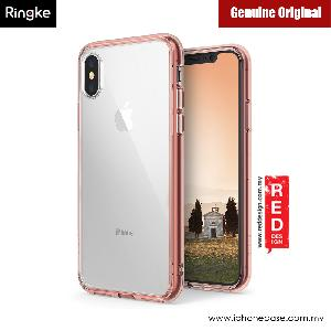 Picture of Rearth Ringke FUSION Crystal Clear PC Back TPU Bumper Case for Apple iPhone X (Rose Gold Crystal) Apple iPhone X- Apple iPhone X Cases, Apple iPhone X Covers, iPad Cases and a wide selection of Apple iPhone X Accessories in Malaysia, Sabah, Sarawak and Singapore