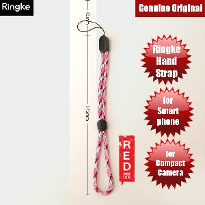 Picture of Ringke Multipurpose Paracord Hand Strap Wrist Strap Lanyard for Smartphone Case Camera Pendrive Flash Drive (Pink Camo) Red Design- Red Design Cases, Red Design Covers, iPad Cases and a wide selection of Red Design Accessories in Malaysia, Sabah, Sarawak and Singapore