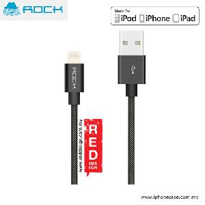 Picture of Rock Version II MFI Certified Charge and Sync Lightning Cable for iPod iPhone iPad - Black Red Design- Red Design Cases, Red Design Covers, iPad Cases and a wide selection of Red Design Accessories in Malaysia, Sabah, Sarawak and Singapore