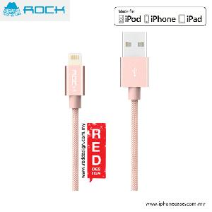 Picture of Rock Version II MFI Certified Charge and Sync Lightning Cable for iPod iPhone iPad - Rose Pink Red Design- Red Design Cases, Red Design Covers, iPad Cases and a wide selection of Red Design Accessories in Malaysia, Sabah, Sarawak and Singapore
