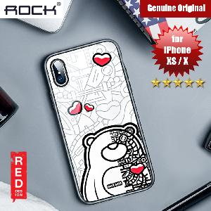 Picture of Rock Tempered Glass Case for Apple iPhone XS iPhone X (Mechanic Bear) Apple iPhone X- Apple iPhone X Cases, Apple iPhone X Covers, iPad Cases and a wide selection of Apple iPhone X Accessories in Malaysia, Sabah, Sarawak and Singapore