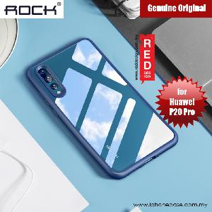 Picture of Rock Clarity Series Protection Case for Huawei P20 Pro (Blue) Huawei P20 Pro- Huawei P20 Pro Cases, Huawei P20 Pro Covers, iPad Cases and a wide selection of Huawei P20 Pro Accessories in Malaysia, Sabah, Sarawak and Singapore