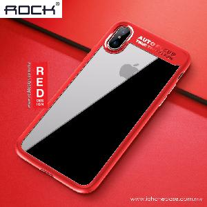 Picture of Rock Clarity Series Protection Case for Apple iPhone X (Red) Apple iPhone X- Apple iPhone X Cases, Apple iPhone X Covers, iPad Cases and a wide selection of Apple iPhone X Accessories in Malaysia, Sabah, Sarawak and Singapore