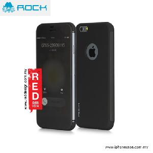 Picture of Rock Dr V Semi Transparent Flip Cover Case for iPhone 6 iPhone 6S 4.7 - Black Apple iPhone 6 4.7- Apple iPhone 6 4.7 Cases, Apple iPhone 6 4.7 Covers, iPad Cases and a wide selection of Apple iPhone 6 4.7 Accessories in Malaysia, Sabah, Sarawak and Singapore