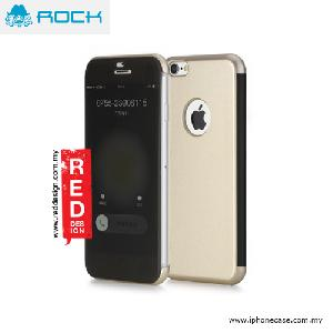 Picture of Rock Dr V Semi Transparent Flip Cover Case for iPhone 6 iPhone 6S 4.7 - Black Gold Apple iPhone 6 4.7- Apple iPhone 6 4.7 Cases, Apple iPhone 6 4.7 Covers, iPad Cases and a wide selection of Apple iPhone 6 4.7 Accessories in Malaysia, Sabah, Sarawak and Singapore