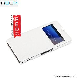 Picture of Rock Excel Series Window View Case for Sony Xperia Z1 - White Sony Xperia Z1- Sony Xperia Z1 Cases, Sony Xperia Z1 Covers, iPad Cases and a wide selection of Sony Xperia Z1 Accessories in Malaysia, Sabah, Sarawak and Singapore