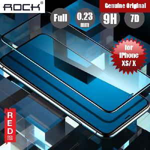 Picture of Rock Soft PET Edge 7D Tempered Glass for Apple iPhone XS iPhone X (Black) Apple iPhone X- Apple iPhone X Cases, Apple iPhone X Covers, iPad Cases and a wide selection of Apple iPhone X Accessories in Malaysia, Sabah, Sarawak and Singapore