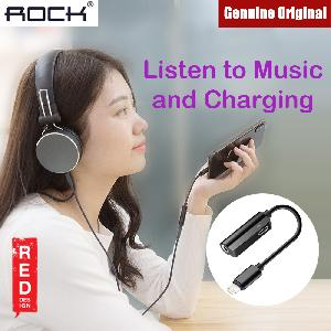 Picture of Rock Lightning to Audio 2 in 1 Cable for Apple iPhone 7 8 X XR XS XS Max (Black) Red Design- Red Design Cases, Red Design Covers, iPad Cases and a wide selection of Red Design Accessories in Malaysia, Sabah, Sarawak and Singapore
