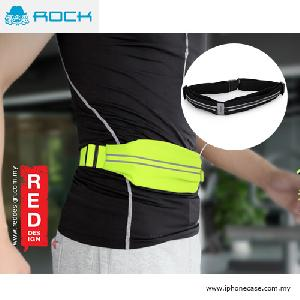 Picture of Rock Sports Waist Bag with Phosphor Bar for up to 6 inches Smartphone - Black Red Design- Red Design Cases, Red Design Covers, iPad Cases and a wide selection of Red Design Accessories in Malaysia, Sabah, Sarawak and Singapore