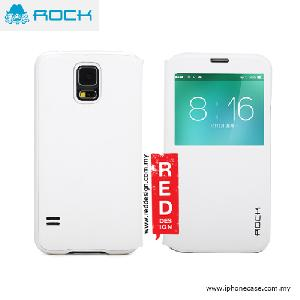Picture of Rock Uni Series Window View Sleep Mode APP Case for Galaxy S5 - White Samsung Galaxy S5- Samsung Galaxy S5 Cases, Samsung Galaxy S5 Covers, iPad Cases and a wide selection of Samsung Galaxy S5 Accessories in Malaysia, Sabah, Sarawak and Singapore