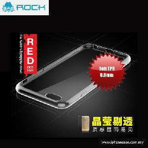 Picture of Rock Ultra Thin Series Soft TPU 0.8mm Case for iPhone 6 Plus 5.5 - Transparent Apple iPhone 6 Plus 5.5- Apple iPhone 6 Plus 5.5 Cases, Apple iPhone 6 Plus 5.5 Covers, iPad Cases and a wide selection of Apple iPhone 6 Plus 5.5 Accessories in Malaysia, Sabah, Sarawak and Singapore
