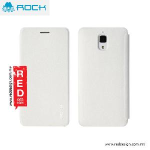 Picture of Rock Uni Series Flip Cover Case for Miui Xiaomi Mi 4 - White Miui Xiaomi Mi 4- Miui Xiaomi Mi 4 Cases, Miui Xiaomi Mi 4 Covers, iPad Cases and a wide selection of Miui Xiaomi Mi 4 Accessories in Malaysia, Sabah, Sarawak and Singapore