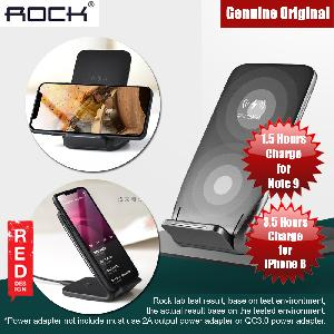 Picture of Rock W3 Dual Coil Wireless Charging Stand Compatible with Samsung Note 9 Note 8 iPhone XS Red Design- Red Design Cases, Red Design Covers, iPad Cases and a wide selection of Red Design Accessories in Malaysia, Sabah, Sarawak and Singapore