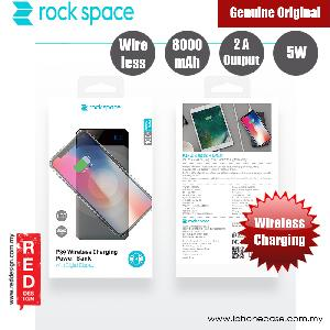 Picture of Rock Space P39 Wireless Charging Power Bank with Digital Display 8000mAh (Grey) Red Design- Red Design Cases, Red Design Covers, iPad Cases and a wide selection of Red Design Accessories in Malaysia, Sabah, Sarawak and Singapore