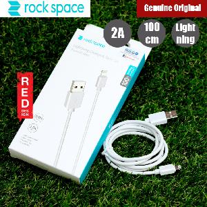 Picture of Rock Space Lightning Charge and Sync 2A Cable for Apple iPhone X iPhone 8 Plus iPad (White) Red Design- Red Design Cases, Red Design Covers, iPad Cases and a wide selection of Red Design Accessories in Malaysia, Sabah, Sarawak and Singapore