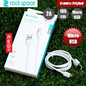 Picture of Rock Space Micro USB Charge and Sync 2A Cable (White) Red Design- Red Design Cases, Red Design Covers, iPad Cases and a wide selection of Red Design Accessories in Malaysia, Sabah, Sarawak and Singapore