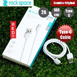 Picture of Rock Space Type C Charge and Sync 2A Cable for Samsung Note 9 Huawei P20 Pro (White) Red Design- Red Design Cases, Red Design Covers, iPad Cases and a wide selection of Red Design Accessories in Malaysia, Sabah, Sarawak and Singapore