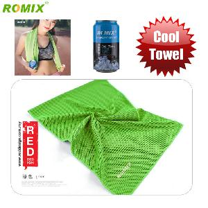 Picture of Romix Instant Cooling Effect Towel - Green Red Design- Red Design Cases, Red Design Covers, iPad Cases and a wide selection of Red Design Accessories in Malaysia, Sabah, Sarawak and Singapore