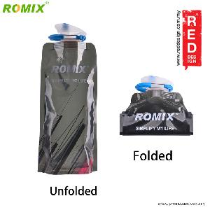 Picture of Romix Foldable Bottle BPA Free 700ml - Black Red Design- Red Design Cases, Red Design Covers, iPad Cases and a wide selection of Red Design Accessories in Malaysia, Sabah, Sarawak and Singapore