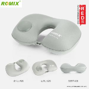 Picture of Romix Travel U Shape Inflatable and Foldable Travel Neck Pillow - Grey Red Design- Red Design Cases, Red Design Covers, iPad Cases and a wide selection of Red Design Accessories in Malaysia, Sabah, Sarawak and Singapore