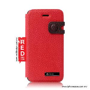 Picture of Zenus iPhone 5 iPhone 5S Masstige Color Edge Diary - Red