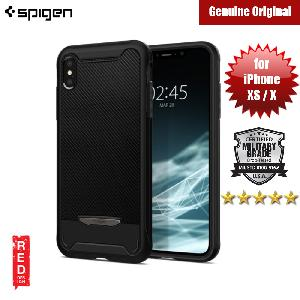 Picture of Spigen Hybrid NX Protection Case for Apple iPhone XS (Black) Apple iPhone XS- Apple iPhone XS Cases, Apple iPhone XS Covers, iPad Cases and a wide selection of Apple iPhone XS Accessories in Malaysia, Sabah, Sarawak and Singapore