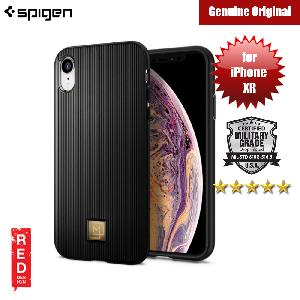 Picture of Spigen LA MANON Classy Protection Case for Apple iPhone XR (Black) Apple iPhone XR- Apple iPhone XR Cases, Apple iPhone XR Covers, iPad Cases and a wide selection of Apple iPhone XR Accessories in Malaysia, Sabah, Sarawak and Singapore