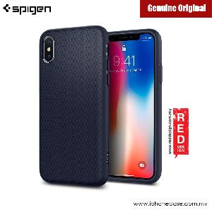 Picture of Spigen Liquid Air Protection Case for Apple iPhone X (Midnight Blue) Apple iPhone X- Apple iPhone X Cases, Apple iPhone X Covers, iPad Cases and a wide selection of Apple iPhone X Accessories in Malaysia, Sabah, Sarawak and Singapore