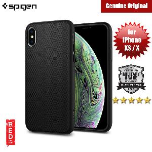 Picture of Spigen Liquid Air Armor Protection Case for Apple iPhone XS iPhone XS (Black) Apple iPhone X- Apple iPhone X Cases, Apple iPhone X Covers, iPad Cases and a wide selection of Apple iPhone X Accessories in Malaysia, Sabah, Sarawak and Singapore