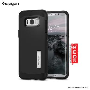 Picture of Spigen Slim Armor Protection Case for Samsung Galaxy S8 - Black Samsung Galaxy S8- Samsung Galaxy S8 Cases, Samsung Galaxy S8 Covers, iPad Cases and a wide selection of Samsung Galaxy S8 Accessories in Malaysia, Sabah, Sarawak and Singapore