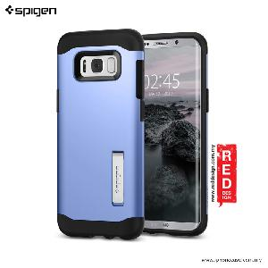Picture of Spigen Slim Armor Protection Case for Samsung Galaxy S8 Plus - Blue Coral Samsung Galaxy S8 Plus- Samsung Galaxy S8 Plus Cases, Samsung Galaxy S8 Plus Covers, iPad Cases and a wide selection of Samsung Galaxy S8 Plus Accessories in Malaysia, Sabah, Sarawak and Singapore