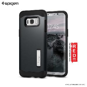 Picture of Spigen Slim Armor Protection Case for Samsung Galaxy S8 Plus - Metal Slate Samsung Galaxy S8 Plus- Samsung Galaxy S8 Plus Cases, Samsung Galaxy S8 Plus Covers, iPad Cases and a wide selection of Samsung Galaxy S8 Plus Accessories in Malaysia, Sabah, Sarawak and Singapore