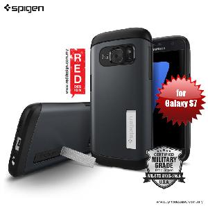 Picture of Spigen Slim Armor Protection Case for Galaxy S7 - Metal Slate Samsung Galaxy S7- Samsung Galaxy S7 Cases, Samsung Galaxy S7 Covers, iPad Cases and a wide selection of Samsung Galaxy S7 Accessories in Malaysia, Sabah, Sarawak and Singapore