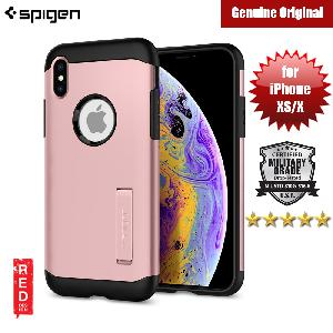 Picture of Spigen Slim Armor Protection Case for Apple iPhone XS (Rose Gold) Apple iPhone XS- Apple iPhone XS Cases, Apple iPhone XS Covers, iPad Cases and a wide selection of Apple iPhone XS Accessories in Malaysia, Sabah, Sarawak and Singapore