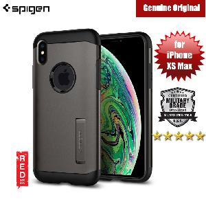 Picture of Spigen Slim Armor Protection Case for Apple iPhone XS Max (Gunmetal) Apple iPhone XS Max- Apple iPhone XS Max Cases, Apple iPhone XS Max Covers, iPad Cases and a wide selection of Apple iPhone XS Max Accessories in Malaysia, Sabah, Sarawak and Singapore