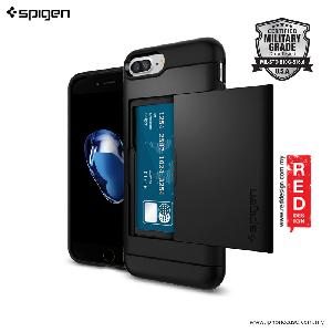 Picture of Spigen Slim Armor CS Wallet Case for Apple iPhone 7 Plus iPhone 8 Plus 5.5 - Black Apple iPhone 8 Plus- Apple iPhone 8 Plus Cases, Apple iPhone 8 Plus Covers, iPad Cases and a wide selection of Apple iPhone 8 Plus Accessories in Malaysia, Sabah, Sarawak and Singapore