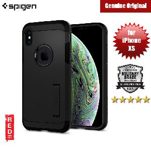Picture of Spigen Tough Armor Protection Case for Apple iPhone XS (Black) Apple iPhone XS- Apple iPhone XS Cases, Apple iPhone XS Covers, iPad Cases and a wide selection of Apple iPhone XS Accessories in Malaysia, Sabah, Sarawak and Singapore