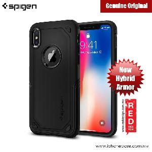 Picture of Spigen Hybrid Armor Protection Case for Apple iPhone X (Black) Apple iPhone X- Apple iPhone X Cases, Apple iPhone X Covers, iPad Cases and a wide selection of Apple iPhone X Accessories in Malaysia, Sabah, Sarawak and Singapore
