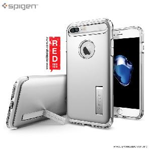 Picture of Spigen Slim Armor Protection Case for Apple iPhone 7 Plus iPhone 8 Plus 5.5 - Satin Silver Apple iPhone 8 Plus- Apple iPhone 8 Plus Cases, Apple iPhone 8 Plus Covers, iPad Cases and a wide selection of Apple iPhone 8 Plus Accessories in Malaysia, Sabah, Sarawak and Singapore