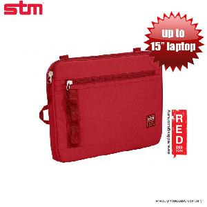 "Picture of STM Arc laptop Sleeve up to 15"" - Red Red Design- Red Design Cases, Red Design Covers, iPad Cases and a wide selection of Red Design Accessories in Malaysia, Sabah, Sarawak and Singapore"