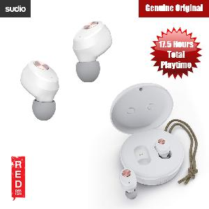 Picture of Sudio Niva  TWS True Wireless Bluetooth Earbuds (White) Red Design- Red Design Cases, Red Design Covers, iPad Cases and a wide selection of Red Design Accessories in Malaysia, Sabah, Sarawak and Singapore
