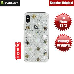 Picture of Switcheasy Flash Floral Series Case with Camera Lens Protection for Apple iPhone XS iPhone X (Conch) Apple iPhone X- Apple iPhone X Cases, Apple iPhone X Covers, iPad Cases and a wide selection of Apple iPhone X Accessories in Malaysia, Sabah, Sarawak and Singapore