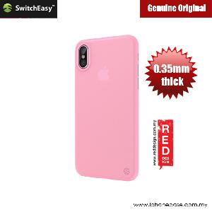 Picture of Switcheasy Ultra Thin Slim 0.35mm Case for Apple iPhone X (Pink) Apple iPhone X- Apple iPhone X Cases, Apple iPhone X Covers, iPad Cases and a wide selection of Apple iPhone X Accessories in Malaysia, Sabah, Sarawak and Singapore