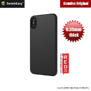 Picture of Switcheasy Ultra Thin Slim 0.35mm Case for Apple iPhone X (Solid Black) Apple iPhone X- Apple iPhone X Cases, Apple iPhone X Covers, iPad Cases and a wide selection of Apple iPhone X Accessories in Malaysia, Sabah, Sarawak and Singapore